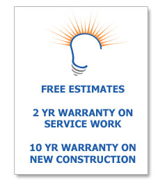 Free Estimates at Prestige Electric, and Our Electrical Service Warranty