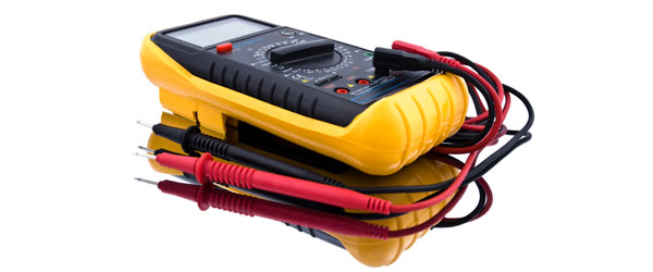 Digital Multimeter Used By Electricians To Troubleshoot